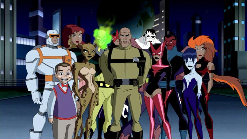 Legion of Doom, supervillains, Challenge of the Super Friends, DC, Comics, Justice League, DCU