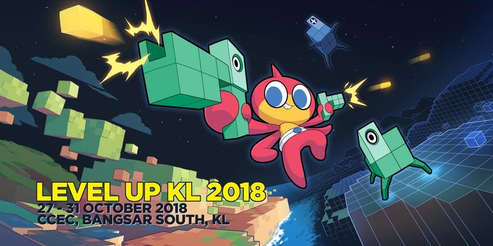 Level Up KL 2018, SEA Game Awards, Southeast Asia, Kuala Lumpur, Malaysia, Game Developer