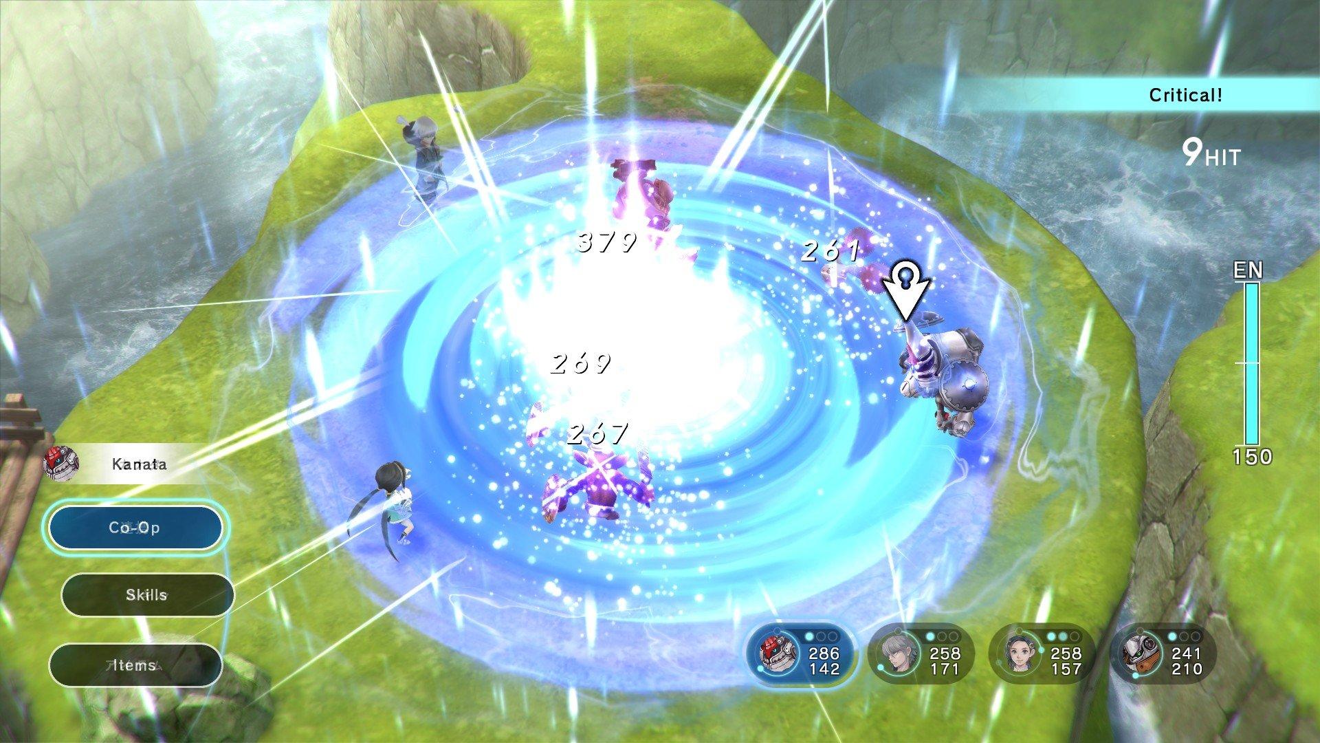 Lost Sphear Tokyo RPG Factory Kanata I Am Setsuna ATN Battle System Chrono Trigger Square Enix