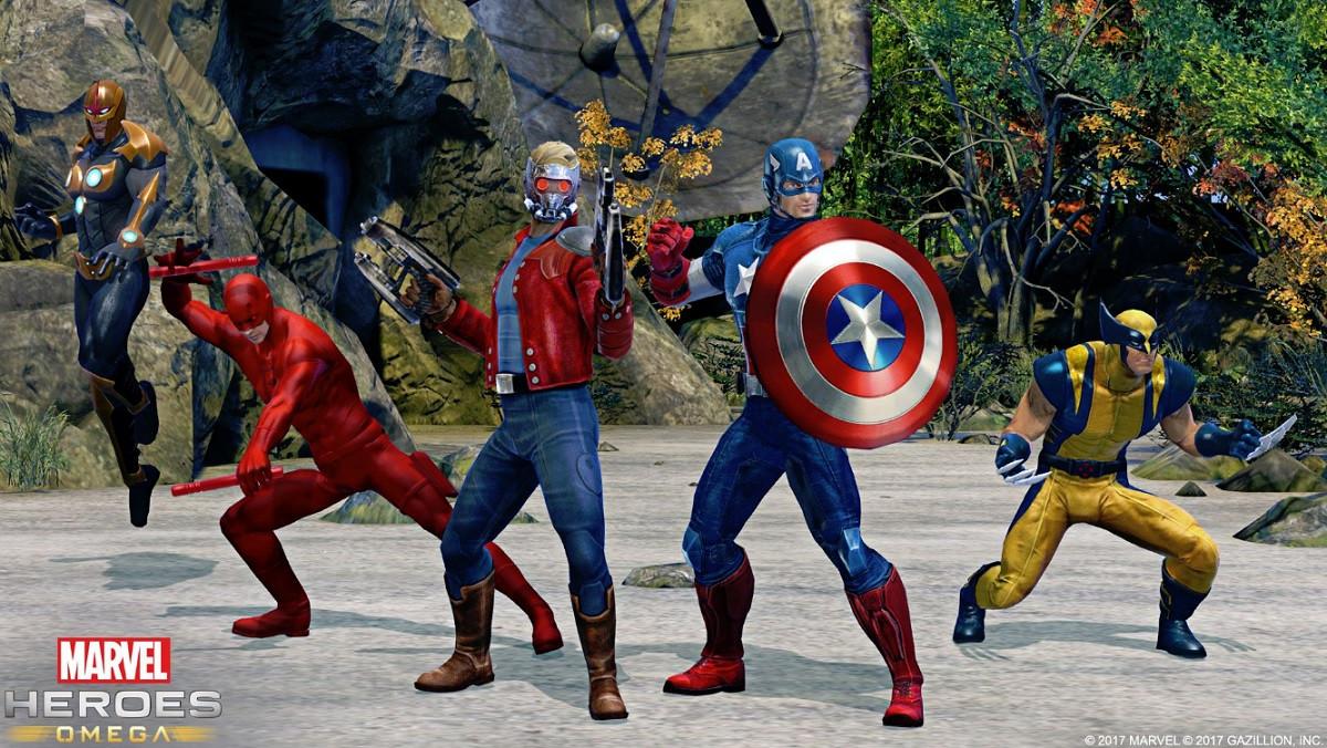 Marvel Heroes, Gazillion Entertainment, Omega, Xbox One, PS4