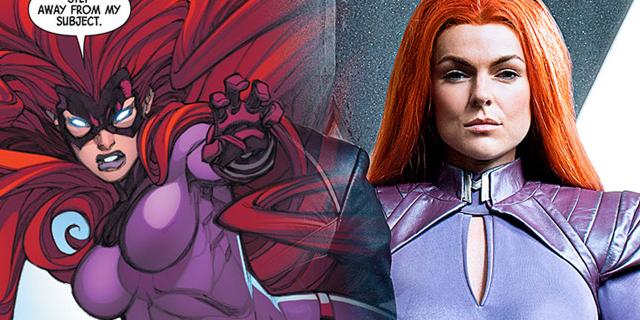 Marvel's Inhumans ABC TV Show Royal Family, Medusa, Queen of the Inhumans, Serinda Swan
