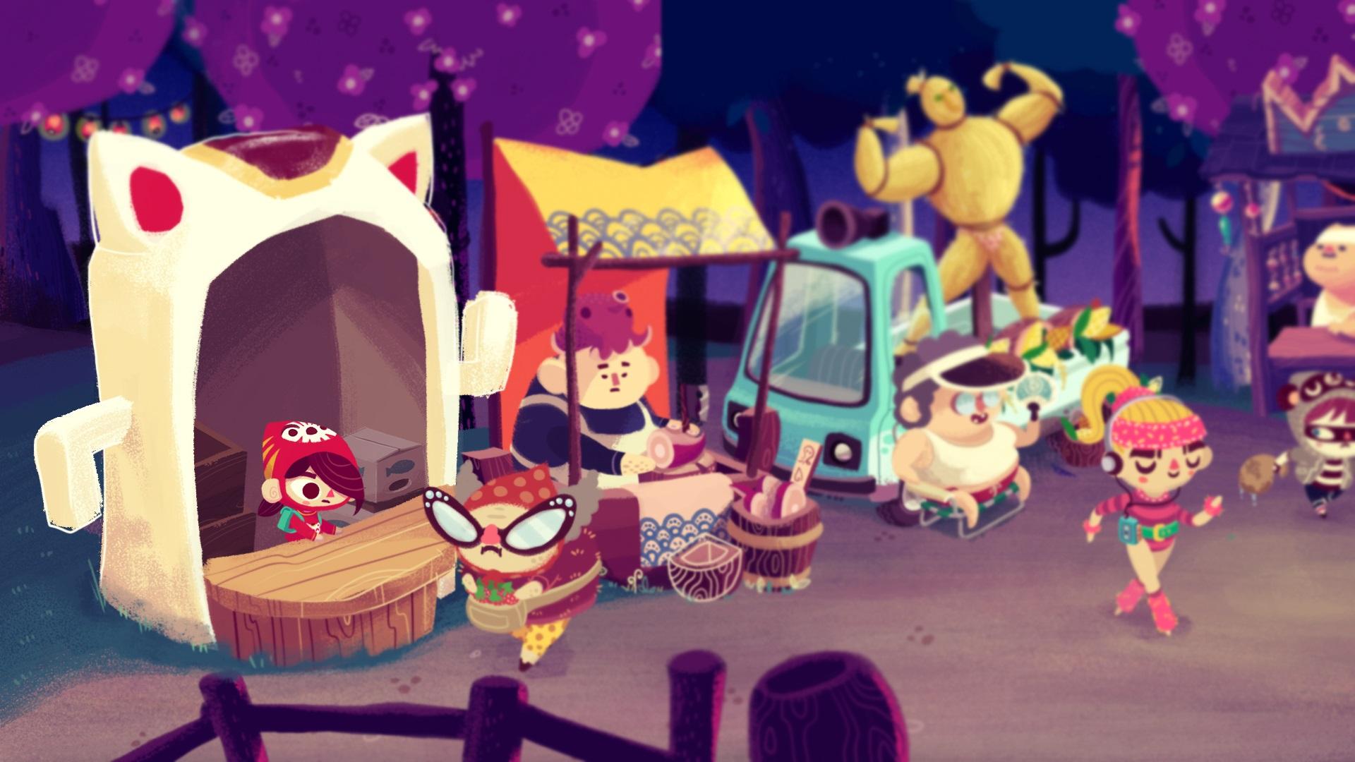 Mineko's Night Market, Meowza Games, Indie Game, Harvest Moon, Animal Crossing, Nintendo Switch