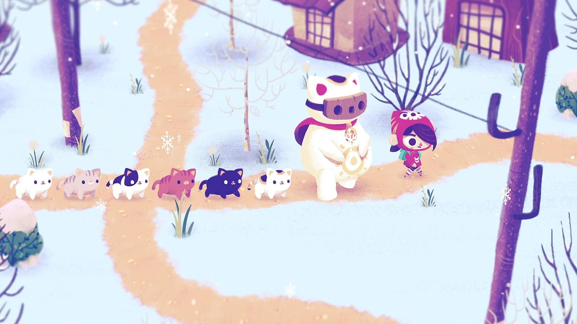 Mineko's Night Market, Meowza Games, Indie Game, Harvest Moon, Animal Crossing
