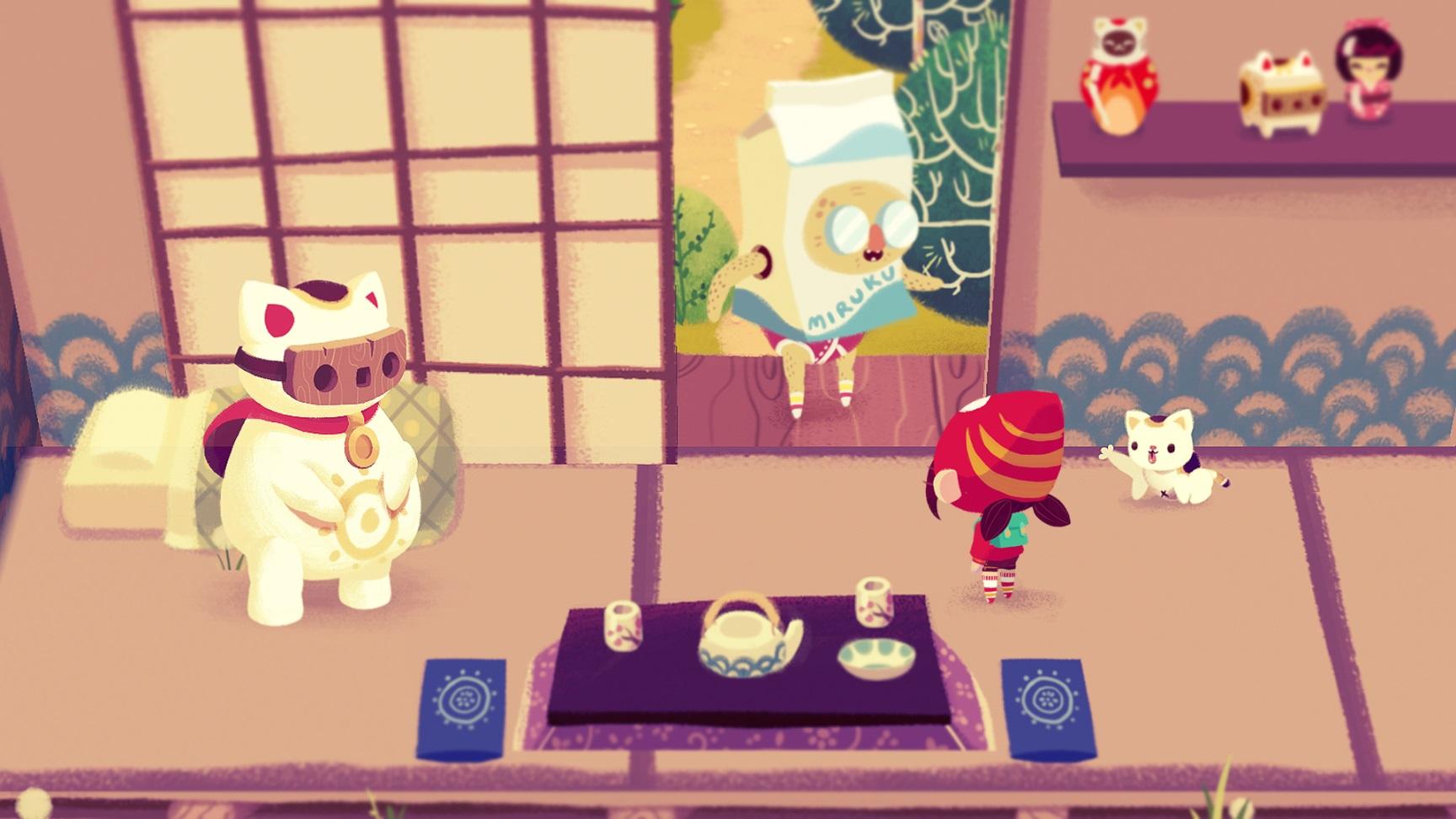 Mineko's Night Market, Meowza Games, Indie Game, cats, Nintendo Switch