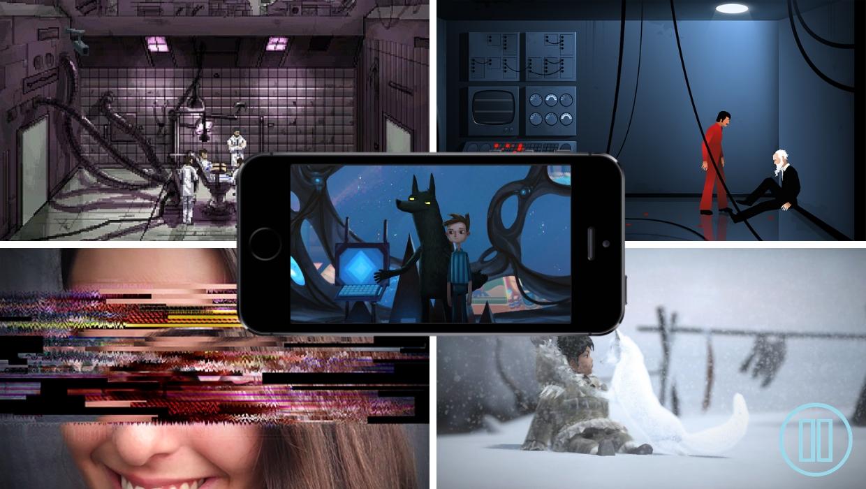 Mobile Games, Story Driven, Broken Age, Never Alone, Gemini Rue, Simulacra, The Silent Age