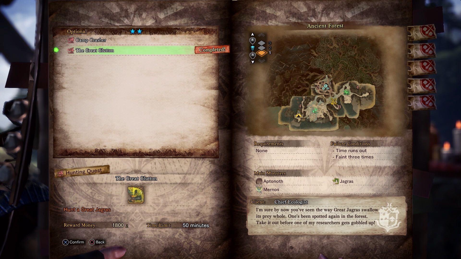 Monster Hunter World, Sony PlayStation 4, Capcom, Map, New World