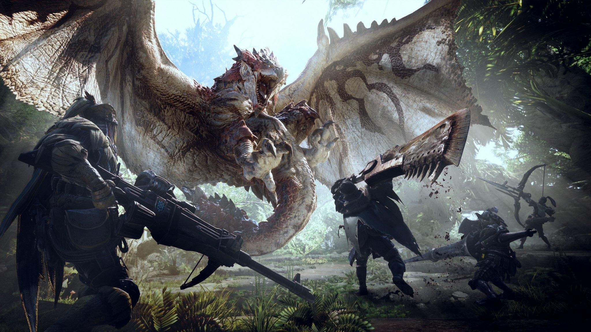 Monster Hunter World, Sony PlayStation 4