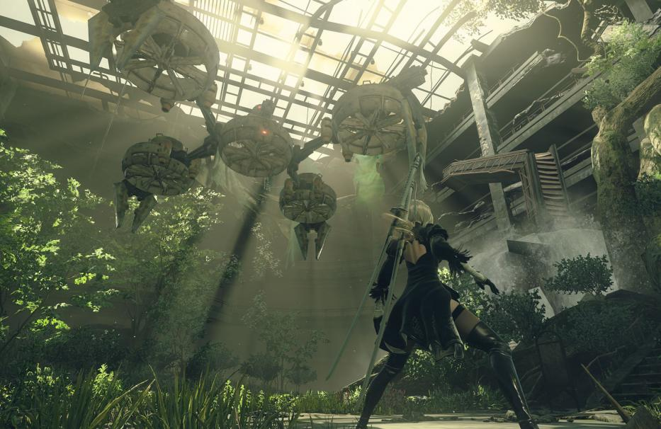 NieR Automata Square Enix Platinum Games Sony Playstation 4 PS4