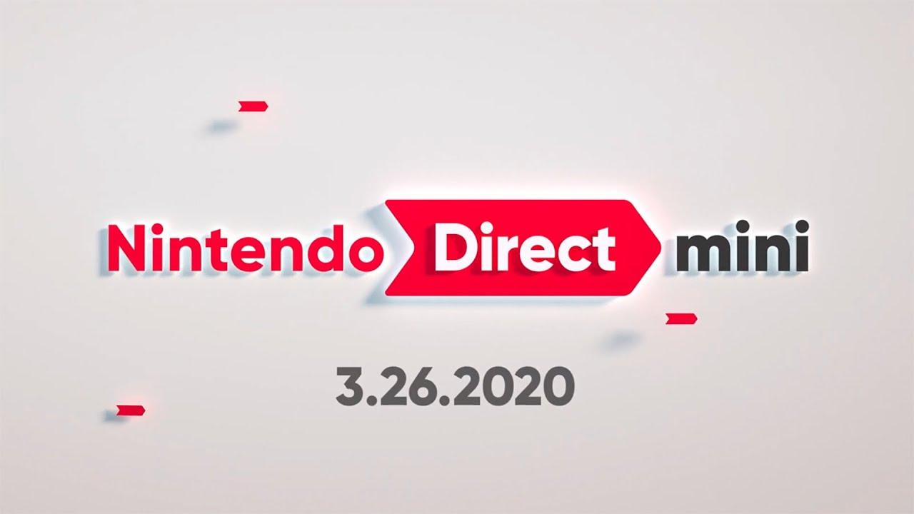 Nintendo Direct Mini, March 2020, Surprise, All Announcements