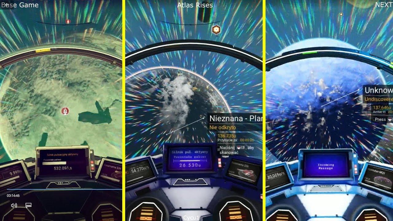 No Man's Sky, Hello Games, Playstation, Indie, Graphics, Next, Comparison