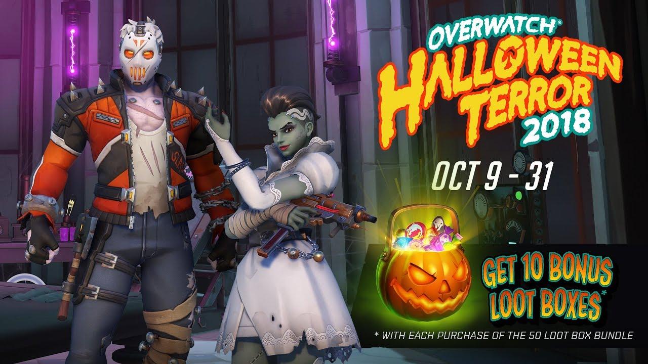 Overwatch Halloween Terror 2018 Event, Blizzard Entertainment