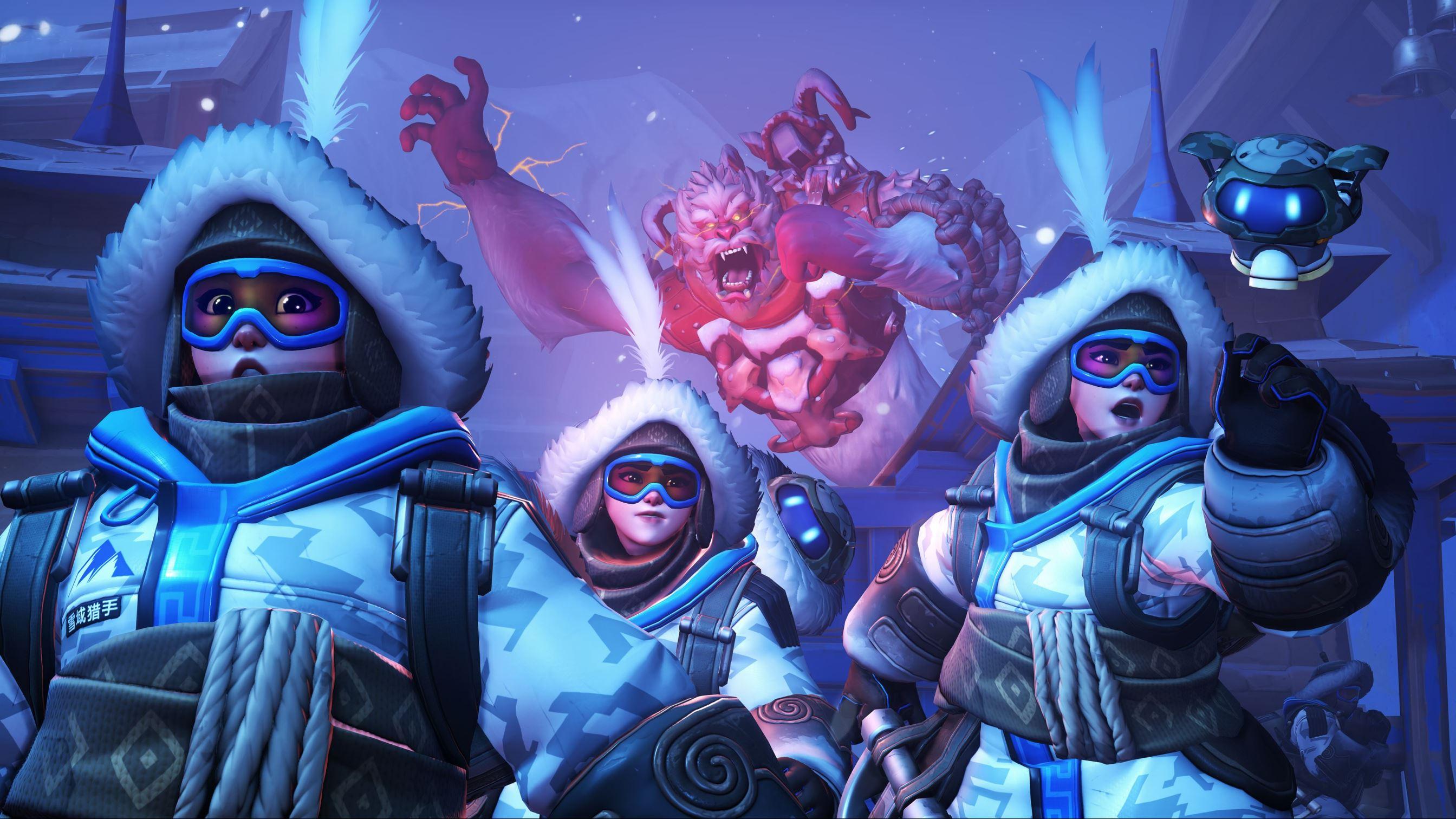 Overwatch, Yeti Hunt, Winter Veil, Winter Wonderland, Blizzard Entertainment