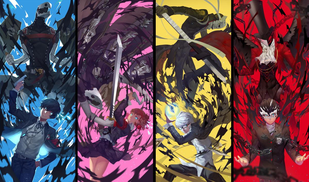 Persona 5 Shin Megami Tensei, Atlus, P Studio, RPG Dating SIM
