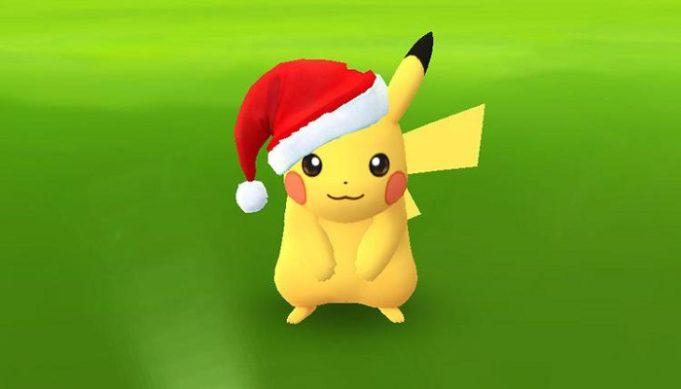 Pokemon Go Christmas Pikachu Santa Hat Raichu