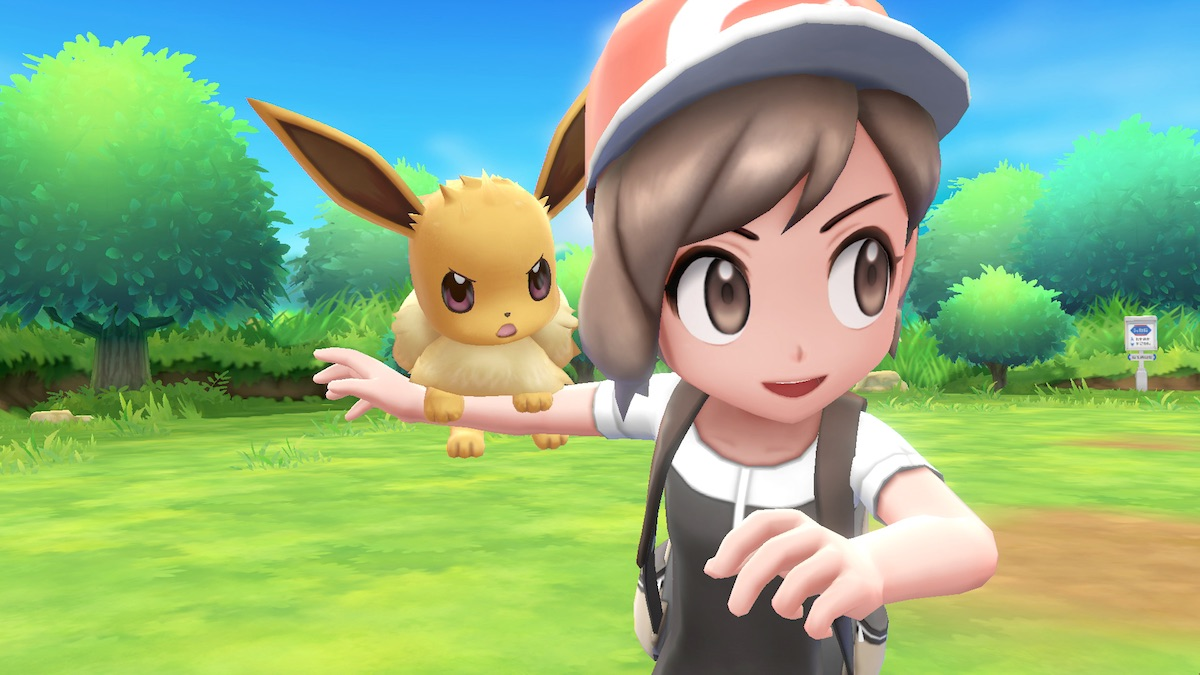 Pokemon Let's Go Eevee, Nintendo, Game Freak, Nintendo Switch, RPG