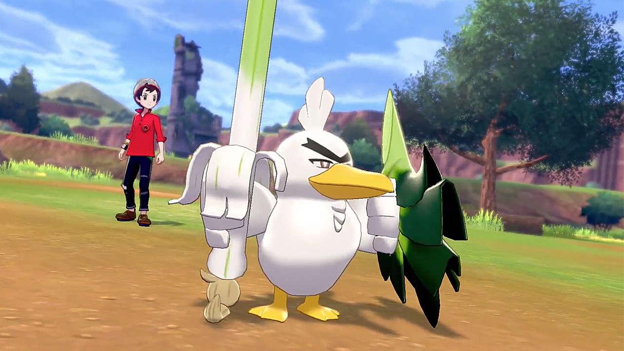 Pokemon Sword and Shield, Game Freak, Pokemon Company, Nintendo, Nintendo Switch, New Pokemon, 8th Generation, Sirfetch'd