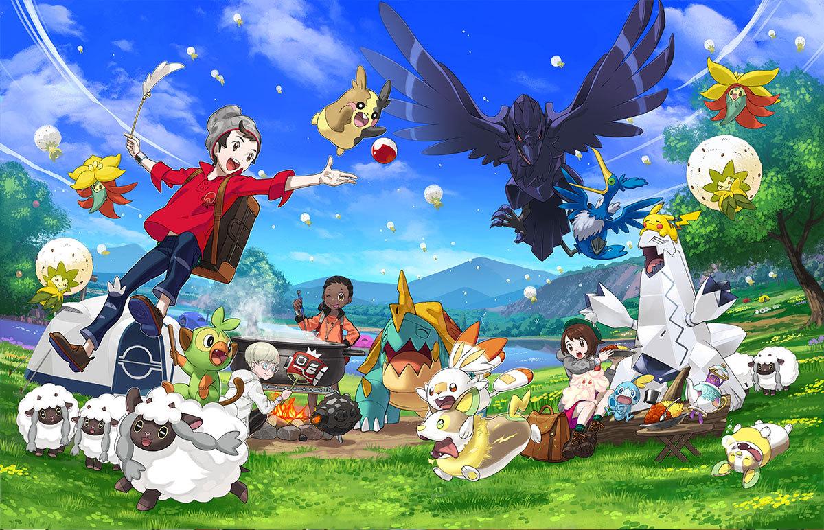 Pokemon Sword and Shield, Game Freak, Pokemon Company, Nintendo, Nintendo Switch, New Pokemon, 8th Generation