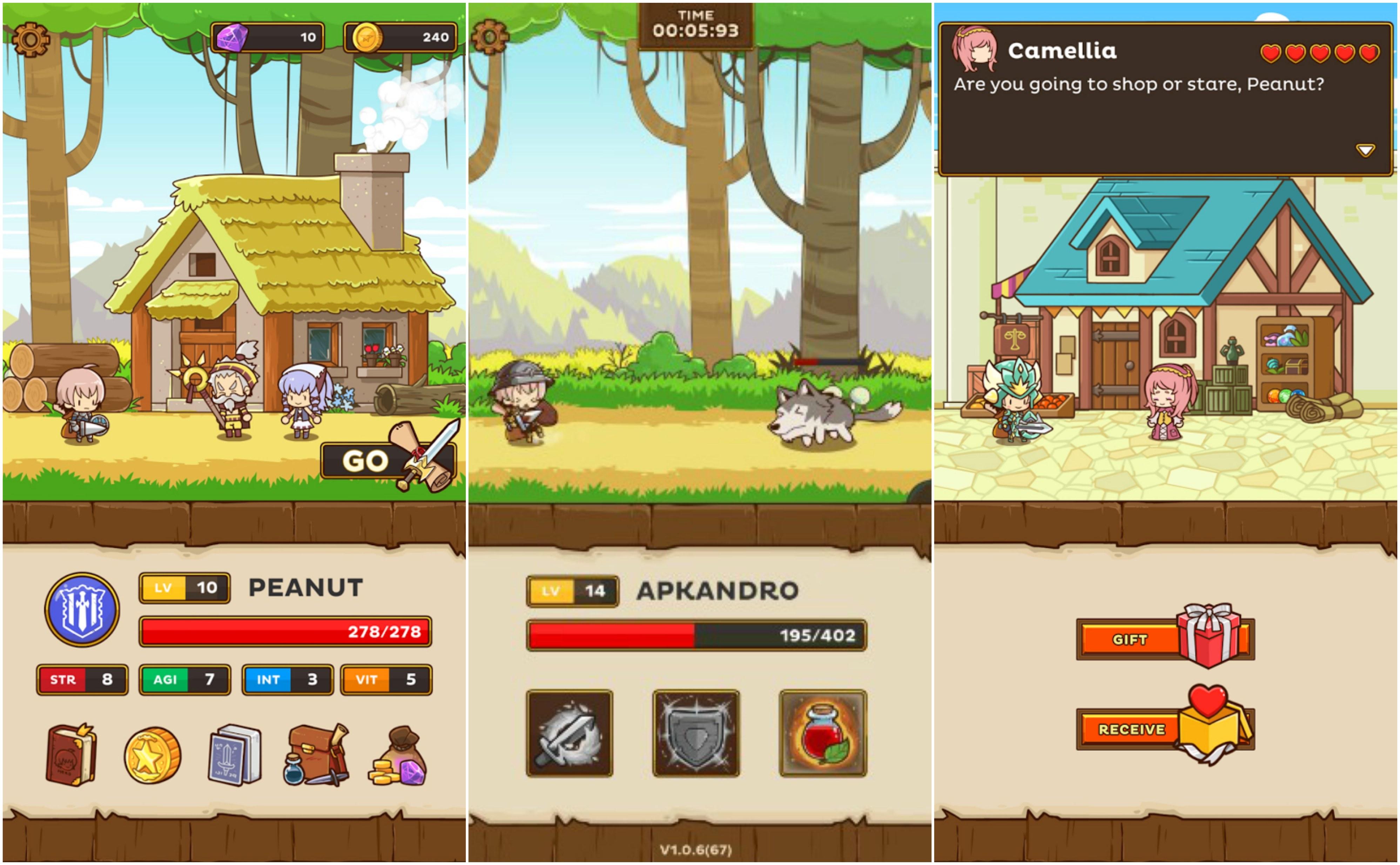 Postknight Kurechii Indie Game Mobile RPG