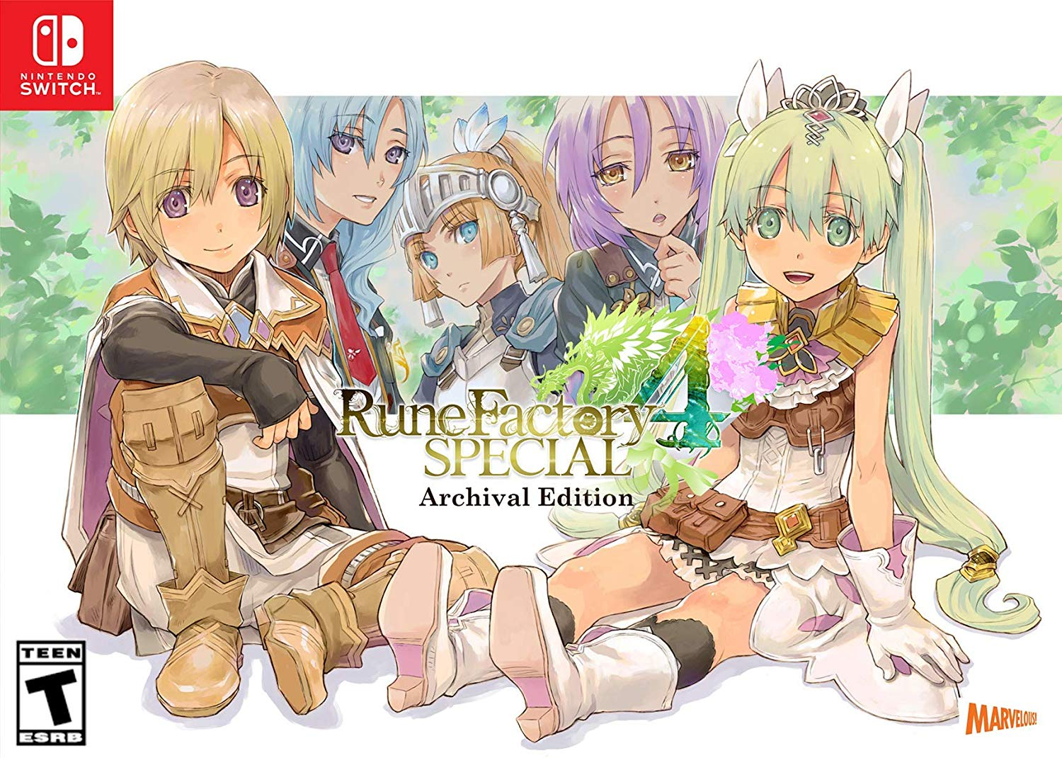 Rune Factory 4, Special Edition, Nintendo, Nintendo Switch, JRPG, Farming, Life Simulation
