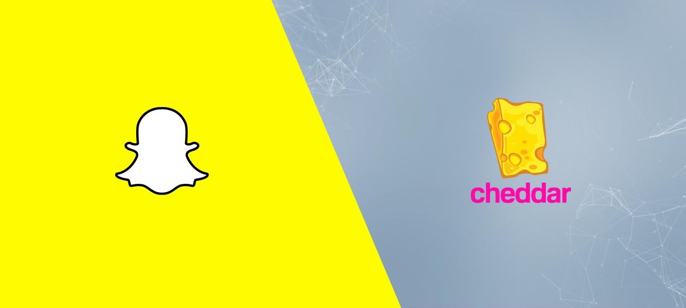 Snapchat, Cheddar, Gaming Platform, Mobile Game, AR, Augmented Reality
