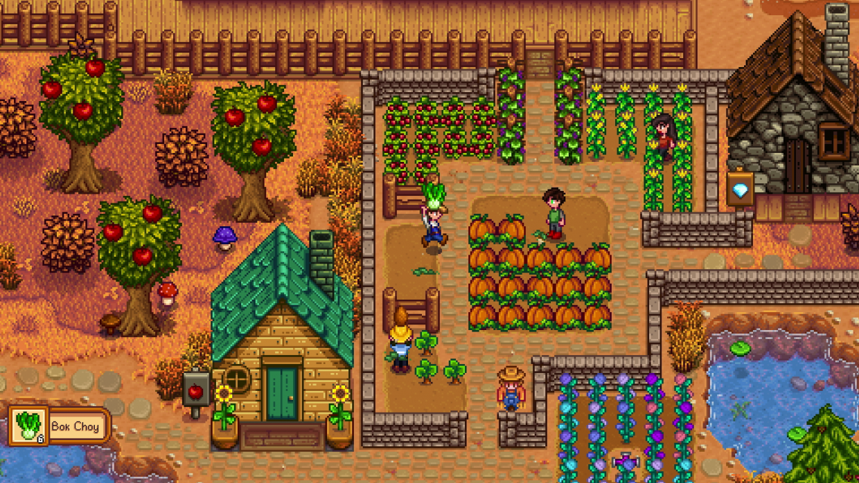 Stardew Valley, ConcernedApe, Indie Game, Faming Sim, Farming Simulation, Multiplayer, Version 1.5, Co-Op