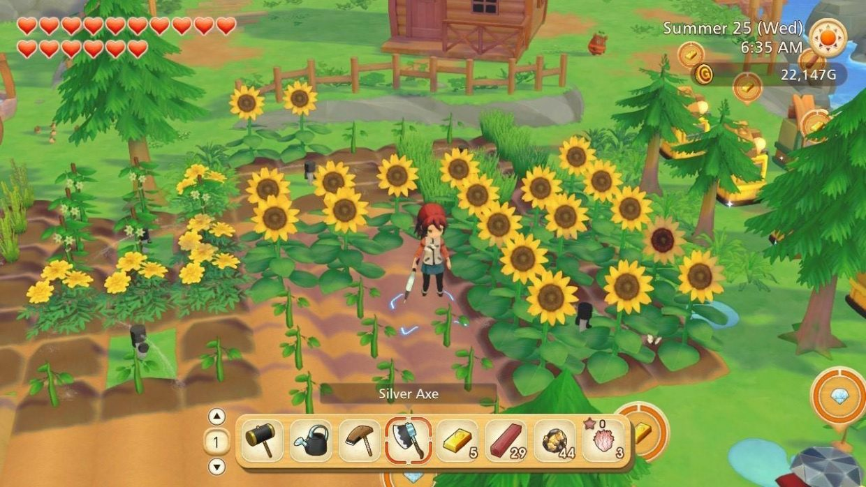 Story-of-Seasons-Friends-of-Olive-Town-Nintendo-Switch-Farming-Sim, Crops, Harvest, Seasons, Harvest Moon