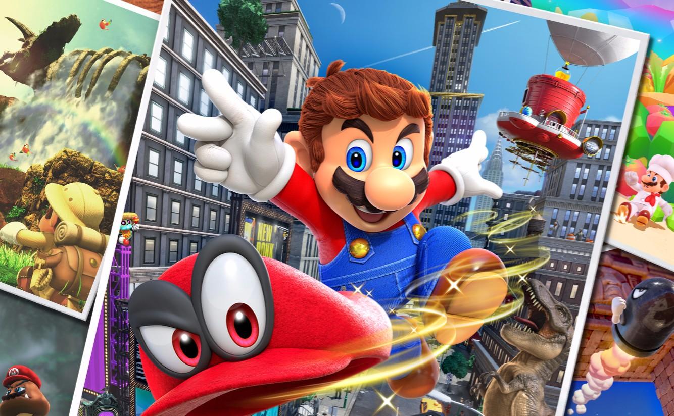 Super Mario Odyssey, Nintendo, Switch, Photo Mode, Gameplay