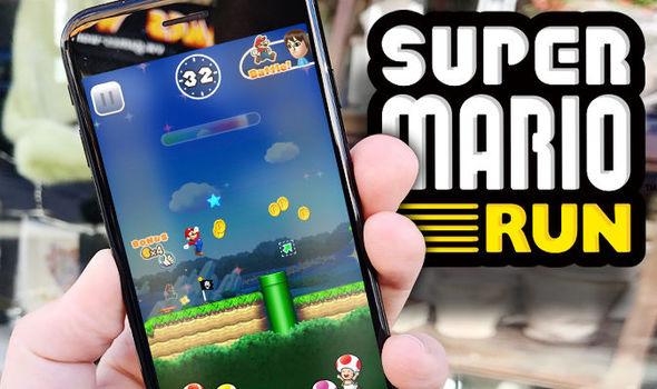 Super Mario Run Nintendo Mobile Game