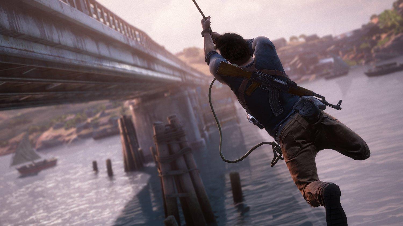 Uncharted 4 Naughty Dog Nath Drake Sony Playstation 4 Slim Adventure Bundle