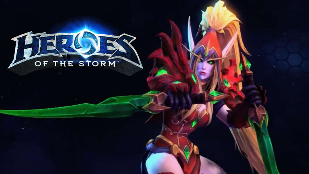 Valeera Sanguinar Rogue Blood Elf World of Warcraft Joins Heroes Of The Storm