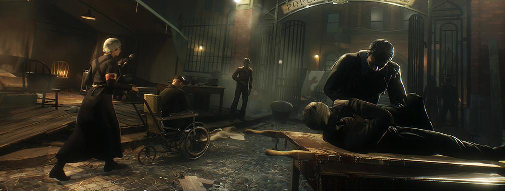 Vampyr, Dontnod Entertainment, Dr Jonathan Reid , Vampire, Gothic, indie game