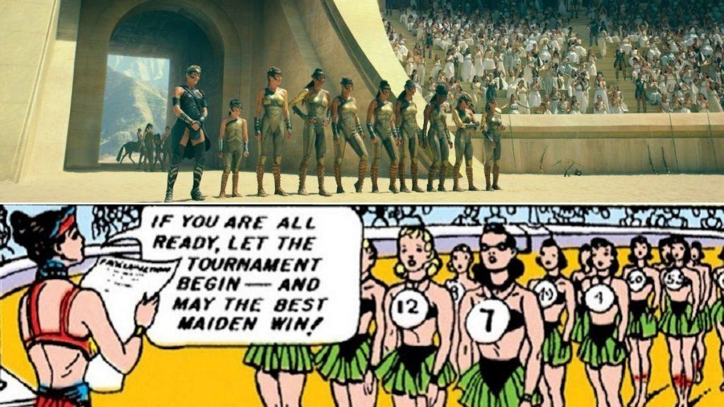 Wonder Woman 1984, DC Comics, Gal Gadot, Diana Prince, Easter Egg, Amazonian Olympics