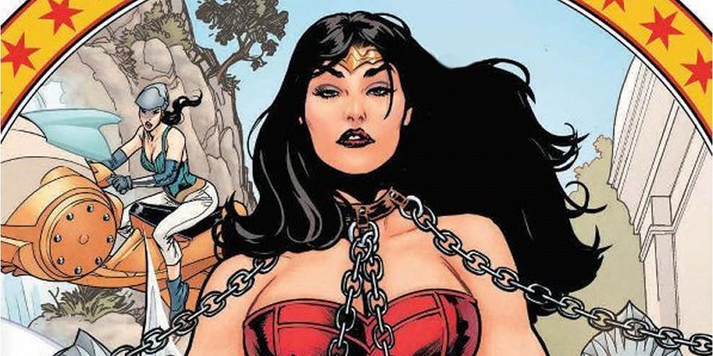 Wonder Woman Earth One DC Comics Comic Book Diana Prince Grant Morrison