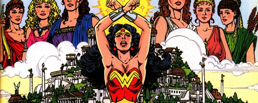 Wonder Woman Gods and Mortals DC Comics Comic Book Diana Prince George Perez