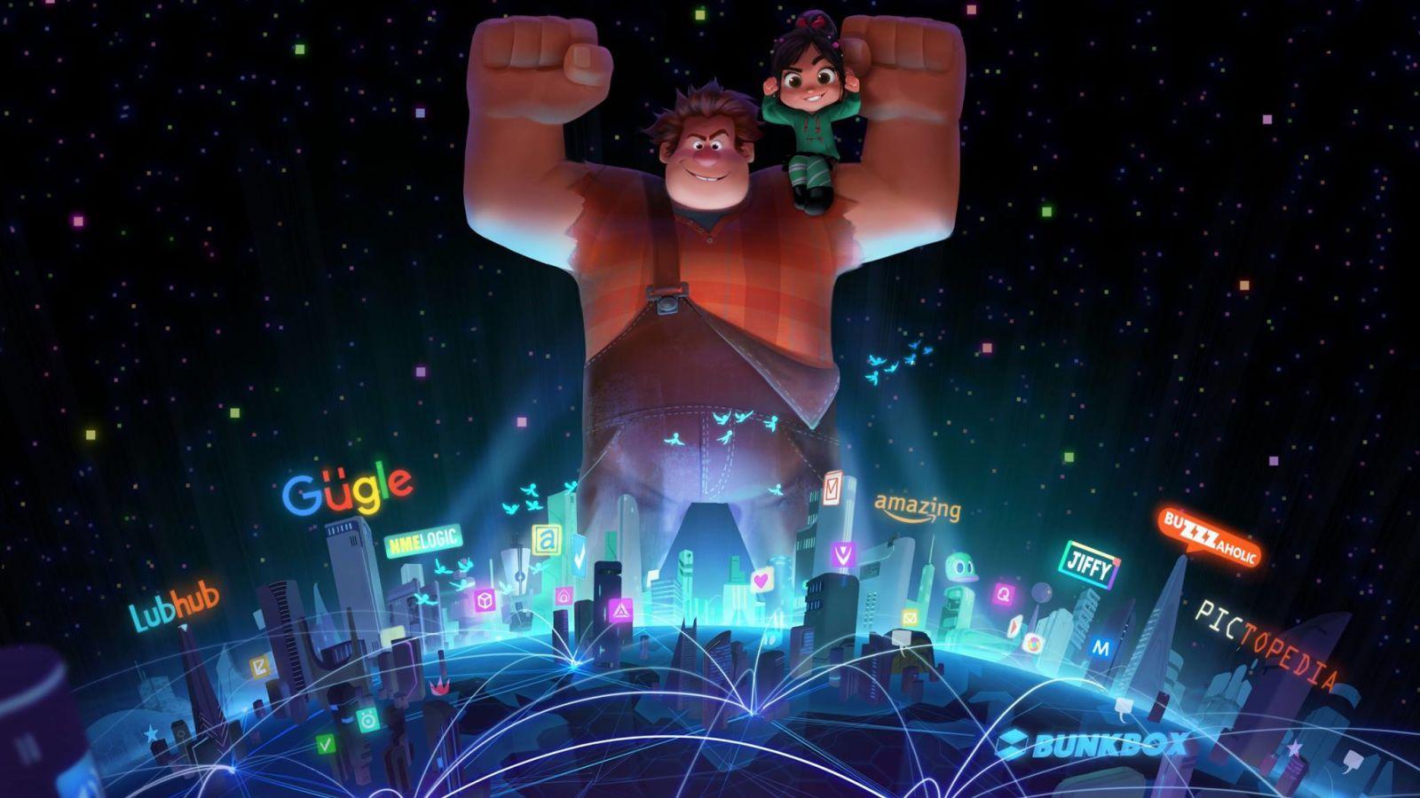 Wreck It Ralph 2, Sequel, Ralph Breaks The Internet, Animated Movie, Pixar, Disney