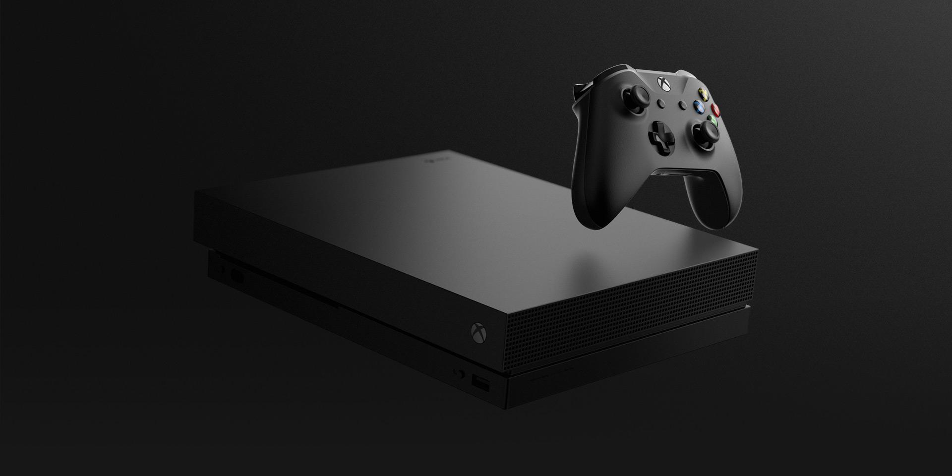 Xbox One X Microsoft E3 2017 Project Scorpio